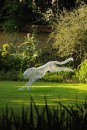 Sculpture in the Garden 2014, cheetah in the West Borders
